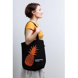 Sprawiedliwy Ananas. Torba z bawełny ekologicznej