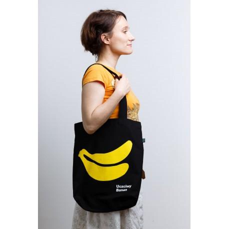 Uczciwy Banan. Torba z bawełny ekologicznej